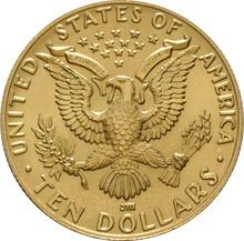 American Gold Commemorative $10 1984 L.A. Olympics