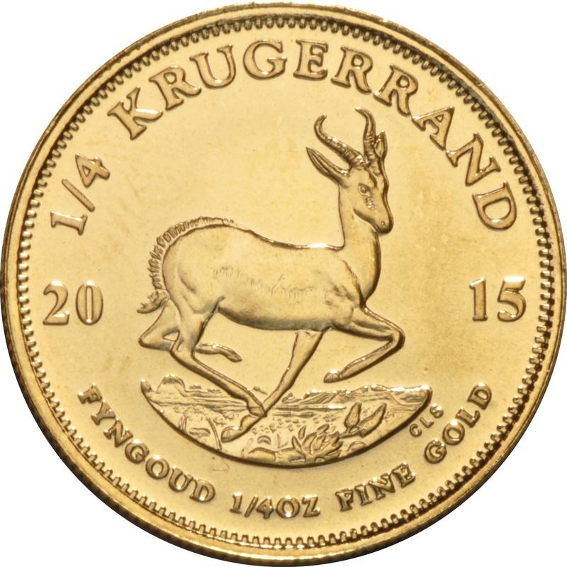 2015 Quarter Ounce Gold Krugerrand