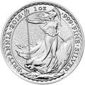 2016 1oz Britannia Silver Coin