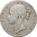 1844 Victoria Young Head Crown - Fine