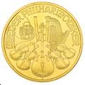 2001 1oz Austrian Gold Philharmonic Coin