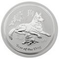 2018 10oz Australian Lunar Year of the Dog Silver Coin