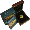 Perth Mint 2015 Back to the Future Delorean 1/4oz Gold Proof Coin Boxed