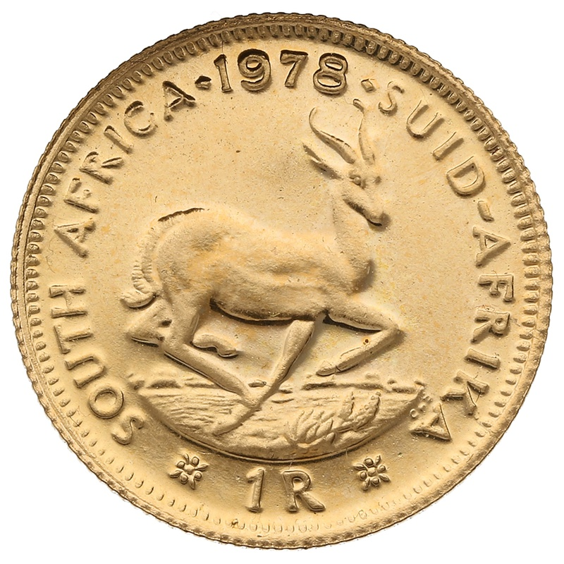 1978 1R 1 Rand coin South Africa