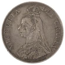 1888 Victoria Double Florin - Fine