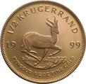 1999 Proof Half Ounce Krugerrand Gold Coin