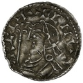 1035-1042 Harthacnut Hammered Silver Penny Thetford Tidread