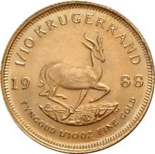1988 Tenth Ounce Krugerrand
