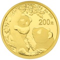 2021 15g Gold Chinese Panda Coin