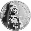 2017 Star Wars 1oz Silver Darth Vader Coin