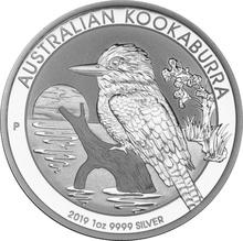 2019 1oz Silver Kookaburra
