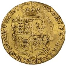 1762 Quarter Guinea Gold Coin