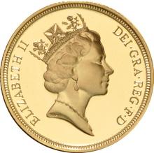 1994 Sovereign Elizabeth Third Head Proof