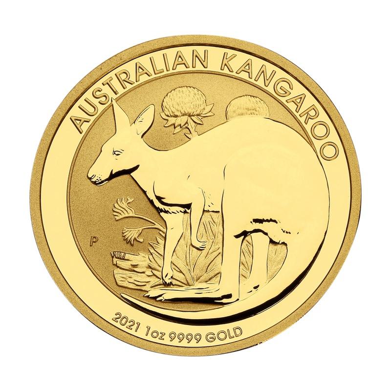 2021 1oz Gold Australian Nugget