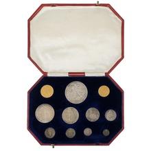 1902 Edward VII Comemorative Proof Set