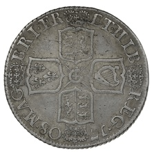 1708 Queen Anne Silver shilling