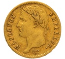 1810 20 French Francs - Napoleon (I) Laureate Head - A