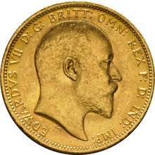 1905 Gold Sovereign - King Edward VII - S