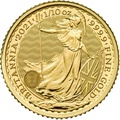 2021 Tenth Ounce Gold Britannia