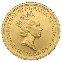 1996 Tenth Ounce Gold Britannia