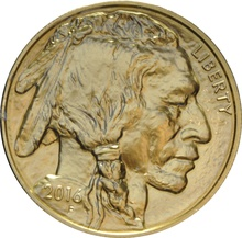 2016 1oz American Buffalo Gold Coin