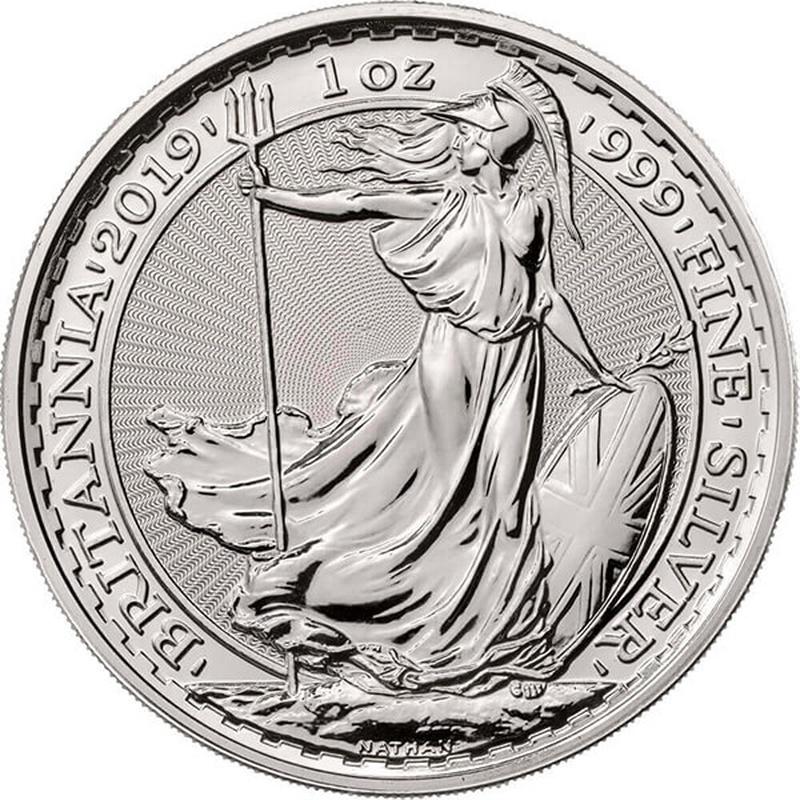 2019 Britannia One Ounce Silver Coin