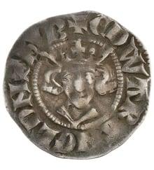 Edward I Silver Penny - Fine {1-22-F001C}
