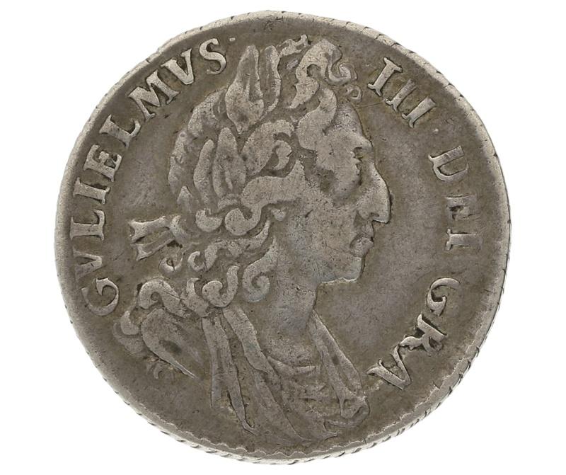 1699 William III Sixpence