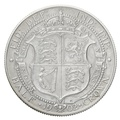 1902 Edward VII Silver Half Crown Matt Proof