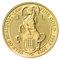 1/4oz Gold Coin, Yale Of Beaufort - Queen's Beast 2019