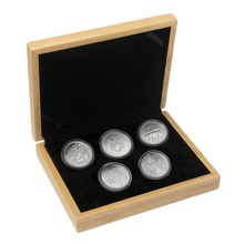 2019 1oz Silver Five Coin Set in Gift Box
