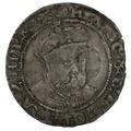 1547-51 Henry VIII Hammered Silver Groat - Posthumous mm Martlet