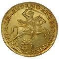 1760 Half Golden Rider 7 Guilders Netherlands Gold Coin