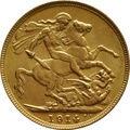 1914 Gold Sovereign - King George V - S