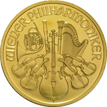 2009 1oz Austrian Gold Philharmonic Coin