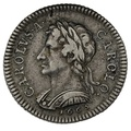 1665 Charles II Pattern Silver Shilling Rare.