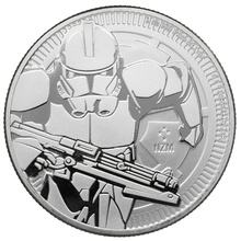 2019 Star Wars™ 1oz Silver Clone Trooper Coin Gift Boxed