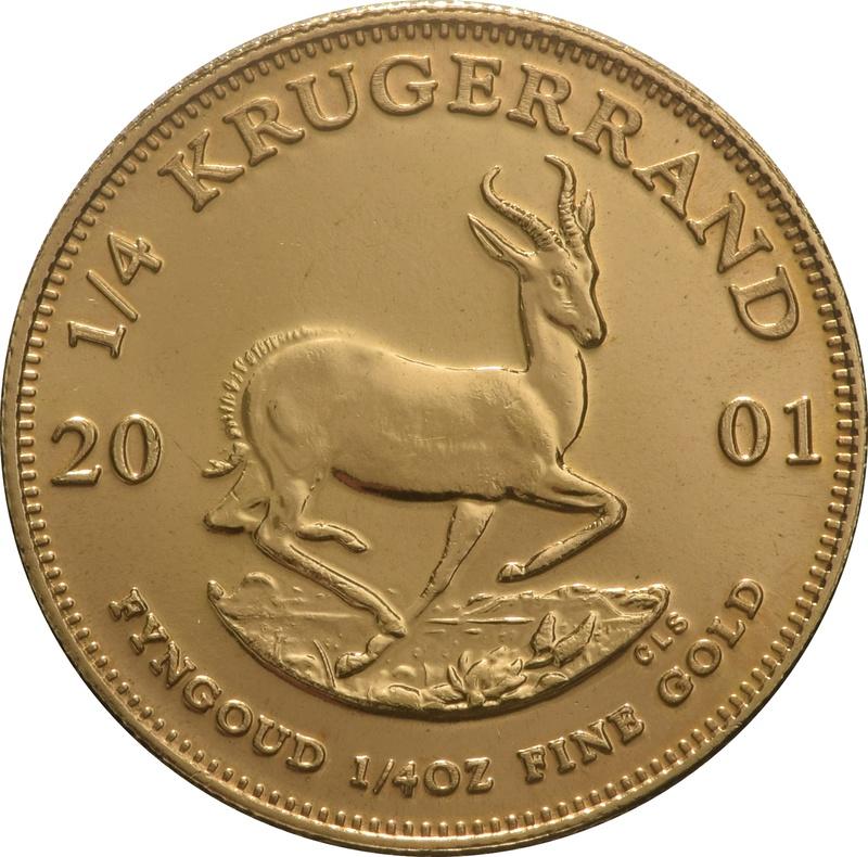 2001 Quarter Ounce Gold Krugerrand