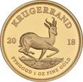 2018 1oz Gold Proof Krugerrand