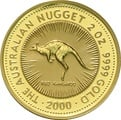 2000 2oz Gold Australian Nugget