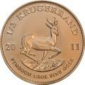 2011 Half Ounce Krugerrand Gold Coin