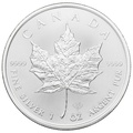 2020 1oz Canadian Maple Silver Coin