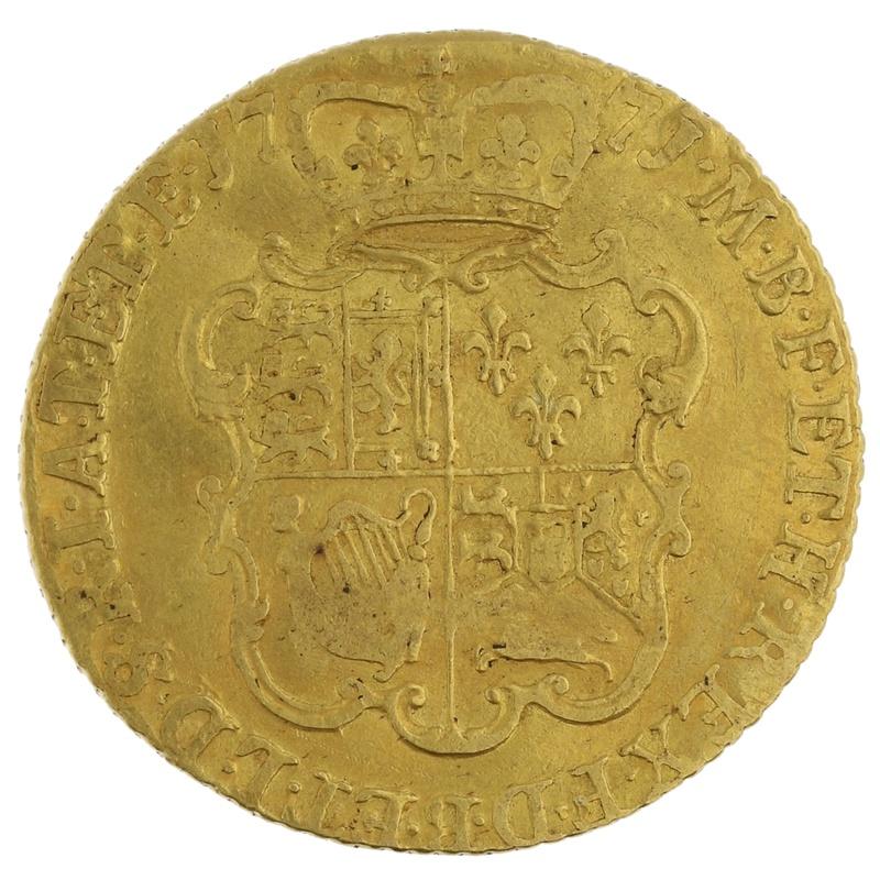1771 Guinea Gold Coin