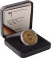 100 Euro 2006 FIFE-Fußballweltmeisterschaft Gold Proof Coin Boxed