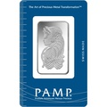 PAMP 20 Gram Silver Bar Minted