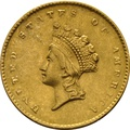 American Gold $1 small Indian Head 14.3mm