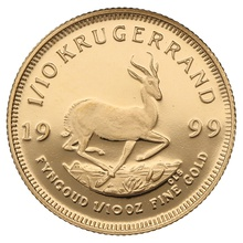 1999 Proof Tenth Ounce Krugerrand