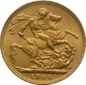 1906 Gold Sovereign - King Edward VII - London