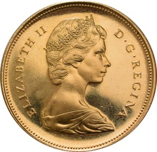 Canadian $20 Independence Centenary 1967 Gold Coin