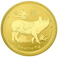 1oz Perth Mint Year of the Pig 2019 Gold Coin